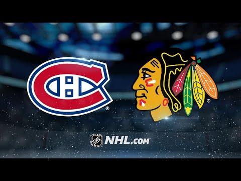 Lindgren shuts down Hawks as Canadiens win, 2-0