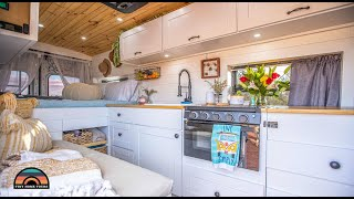 Gorgeous Ford Transit Tiny House - Ditching Corporate Life For Van Life