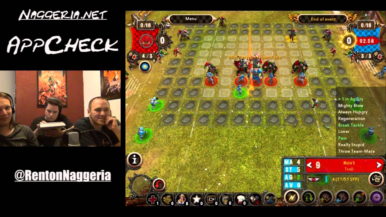 [AppCheck] Blood Bowl (iOS)