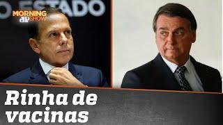 """Bolsonaro x Doria: Entenda a treta em torno da Coronavac, a """"vacina chinesa"""""""