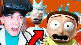 РИКУ И МОРТИ ПОПАЛИ В БОЛЬШУЮ БЕДУ!!!  (Rick and Morty: Virtual Rick-ality)