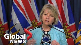 Coronavirus outbreak: B.C. reports one death, 92 new cases of COVID-19 | FULL