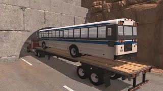 Low Clearance Crashes | BeamNG.drive