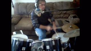 ME Drumming Foreigner. Heart Turns to Stone.
