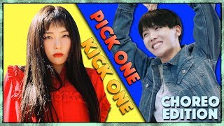 Pick One Kick One  Choreography Edition  Kpop Game (Dance Practice)