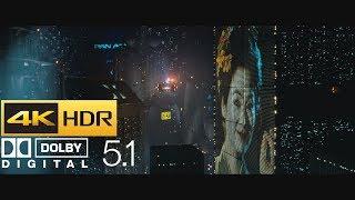 Blade Runner - Opening Scene (HDR - 4K - 5.1)