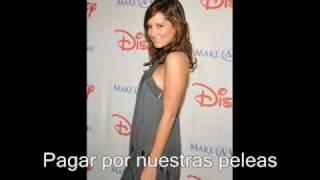 Ashley Tisdale - Who i am (spanish)