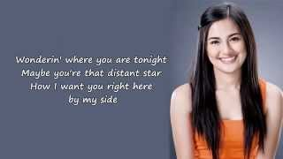 Julie Anne San Jose   Right Where You Belong Lyrics On Screen