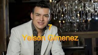 Los 10 Mejores Cantantes Populares De Colombia