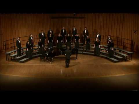 Chamber Choir performance, spring 2016