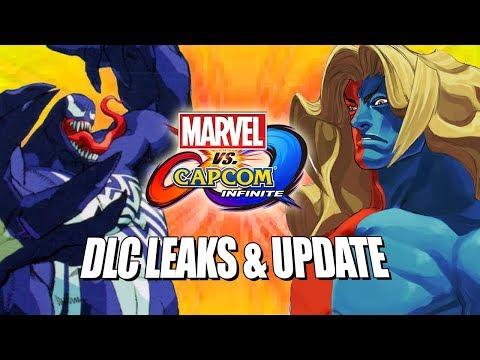 DLC LEAKS & MORE: Marvel Vs. Capcom Infinite (Sept Update)