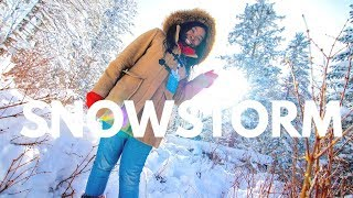 Video : China : Winter wonderland in JiLin province