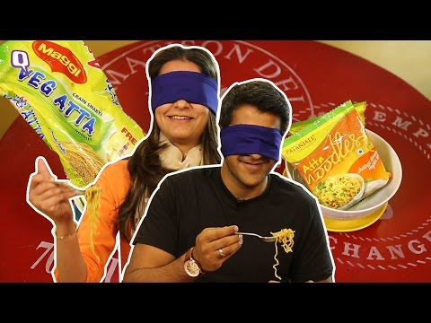 , title : 'Maggi vs Patanjali Noodles: Taking The Blindfolded Taste Challenge'