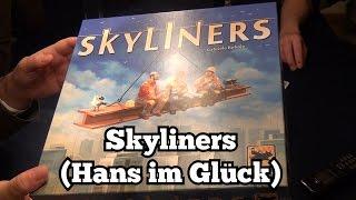 Test Skyliners (Hans im Glück): Rezension und Beispielrunde von Spiele-Podcast.de