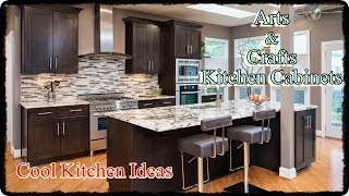 Mission Style Kitchen Cabinets - Arts And Crafts Kitchen Decor