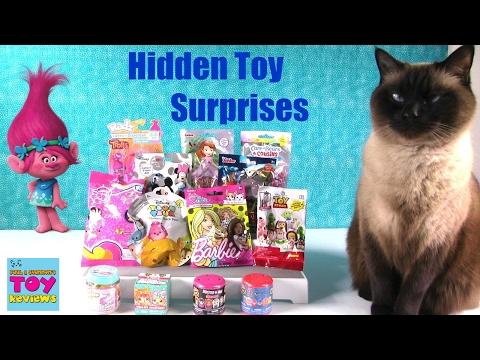Trolls Radz Barbie Shopkins Disney Fashems MLP Blind Bag Opening | PSToyReviews