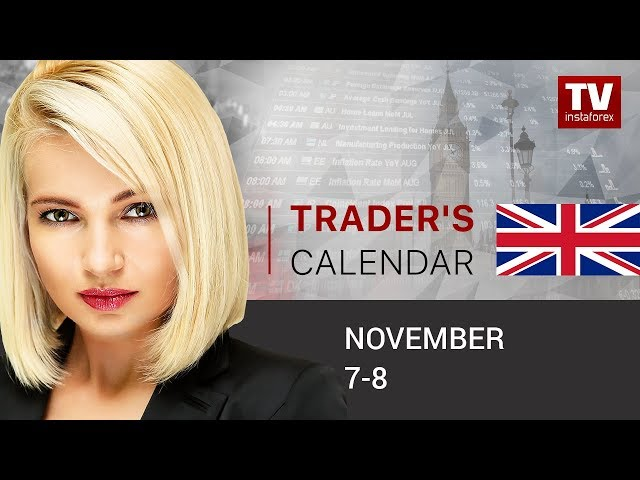 InstaForex tv calendar. Traders' calendar for November 7 - 8: Why GBP set to fall? (GBP, USD, AUD, CAD)