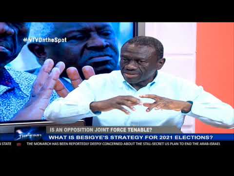 ON THE SPOT: What is Besigye's strategy for the 2021 elections?