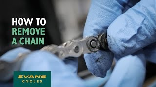 How To Remove a Bicycle Chain