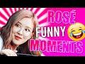Les Meilleurs Moments Drôle de Rosé des BLACKPINK 🌹😂