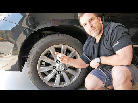How to Rotate Tires on a Lexus LX570