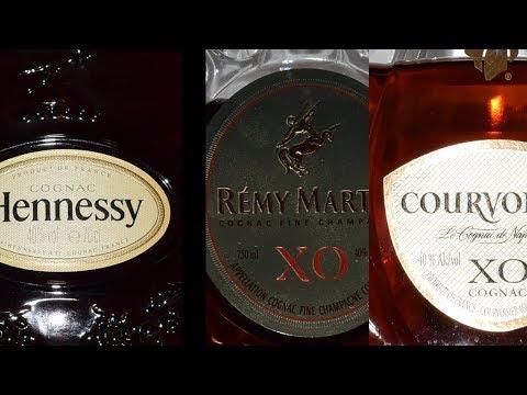 XO Cognac Challenge: Hennessy Vs. Remy Martin Vs. Courvoisier