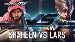 Tekken 7 - PS4/XB1/PC - Shaheen VS Lars (Character Gameplay)