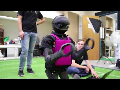 Team of teen soccer robots represent Australia at World Cup