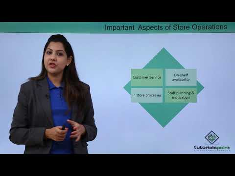 Retail Management - Store Operations