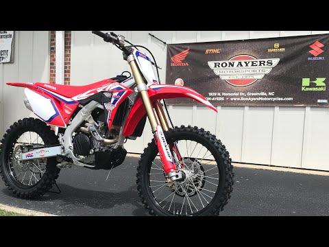 2020 Honda CRF450R in Greenville, North Carolina - Video 1
