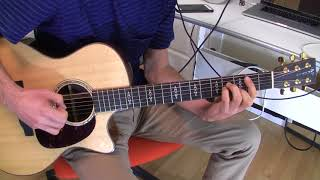 Chet Atkins and Dolly Parton - Do I Ever Cross Your Mind (Guitar part)