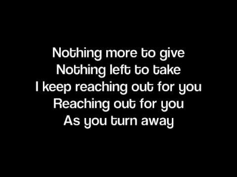 As You Turn Away- Lady Antebellum (Lyrics on screen)