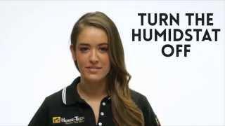 Humidistat - How to Set It