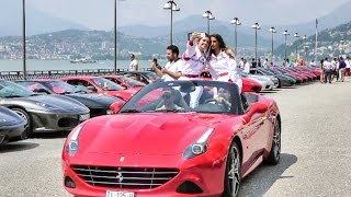 """Crazy Sounds, Loud Engines and High Revs from 100 Supercars at """"Cars and Coffee"""" Lugano 2016"""