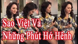 Sao Việt và những phút hớ hênh kém duyên trên truyền hình