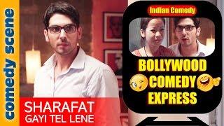 Zayed Khan Comedy Scene {HD} | Bollywood Comedy Express | Sharafat Gayi Tel Lene | Indiancomedy