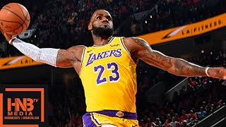 Los Angeles Lakers vs Portland Trail Blazers Full Game Highlights | 10.18.2018, NBA Season