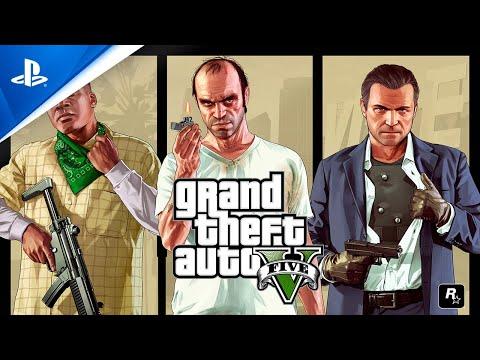 Annonce de la version améliorée PS5 de Grand Theft Auto V