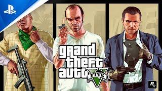 GTA 5 será de graça e melhorado para o Playstation 5