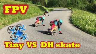 FPV : DH skate vs tiny фото