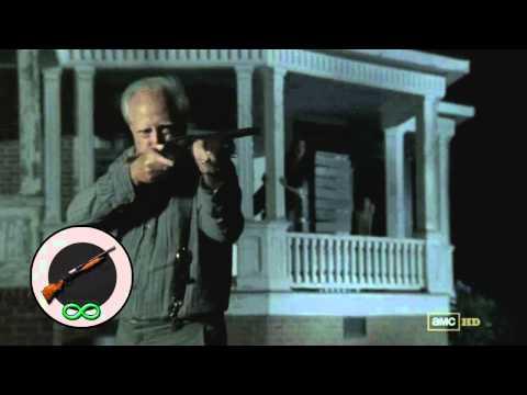 Video of Shotgun of The Walking Dead