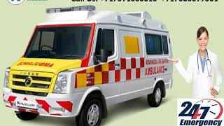 Economical Road Ambulance Service in Dhanbad and Bokaro by King