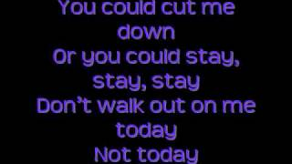 The All-American Rejects - Stay (w/Lyrics on screen)