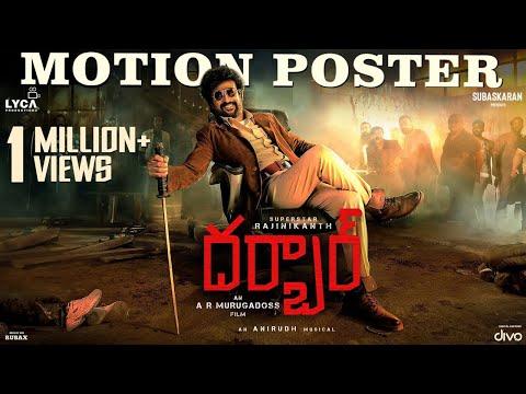 Darbar Motion Poster