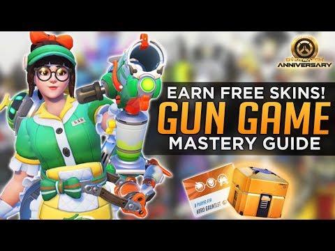 Overwatch: Hero Gauntlet Mastery Guide - Earn FREE Skins!
