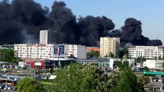 Pożar We Wrocławiu 19.05.17 Ul. Piękna 62