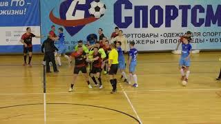 Типичная Шатура - футбольная драка