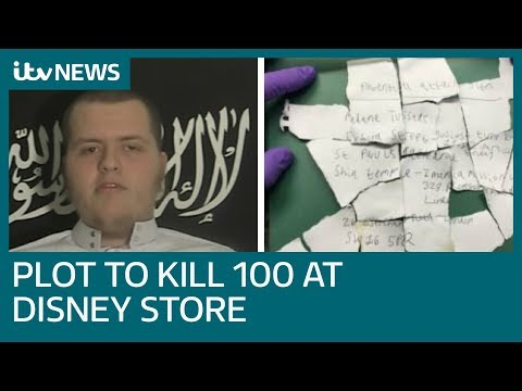 Terror plot to kill 100 outside Oxford Street Disney Store | ITV News