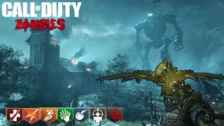 ORIGINS Y MOON EASTER EGGS CON SUBS | CALL OF DUTY: BLACK OPS 3 ZOMBIES CHRONICLES GAMEPLAY