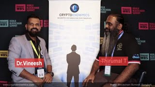 world-blockchain-summit-bangkok-interview-with-thirumal-t-by-cryptoknowmics